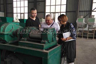 Romania Client Business Visiting To Tianci Heavy Industry3