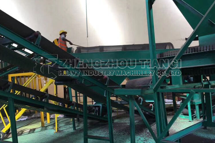 Ghana Organic Fertilizer Production Line Installation Site2