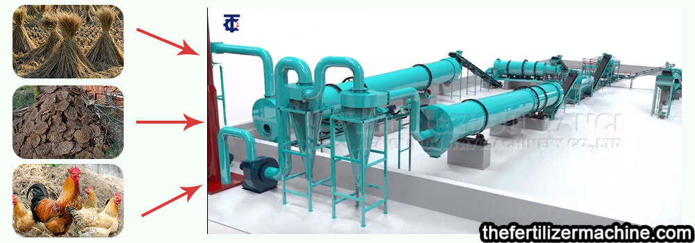 biological organic fertilizer machine