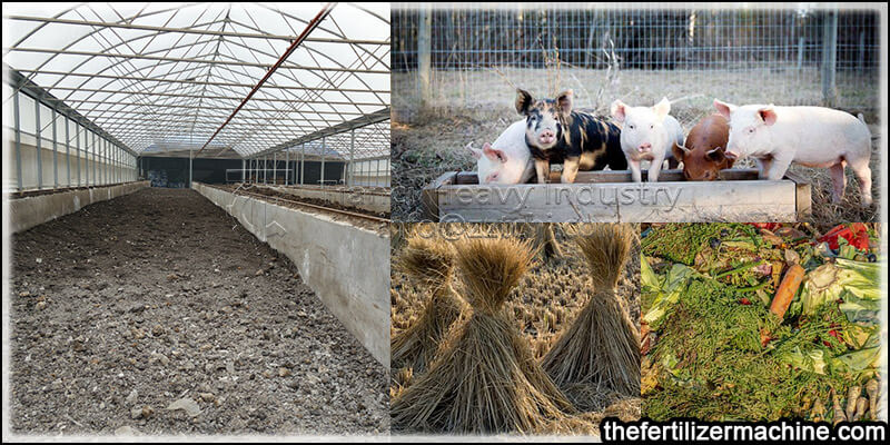 pig manure fermentation composting technology