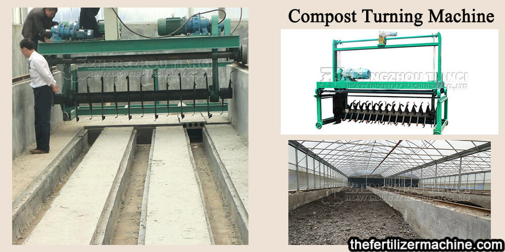 Chicken Manure Fermentation Compost Turner for Organic Fertilizer Equipment