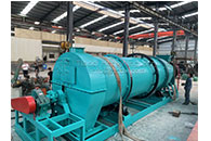 Tianci fertilizer granulator machine and ball shaping machine shipment