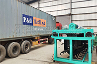 Two Containers Of Simple Groove Turning Machine Shipping To Chile