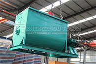 New Type Horizontal Fertilizer Mixer Delivery to Kenyan