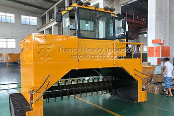 Crawler-type Turning Machine