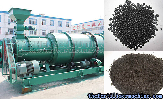 Nissan 200 tons of Organic Fertilizer combination granulation production lines