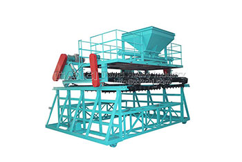 Chain Compost Turning Machine