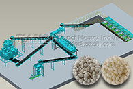 dry granulation of NPK fertilizer