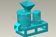pig manure organic fertilizer crusher