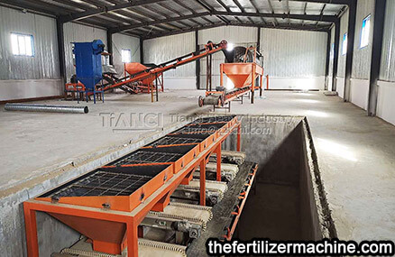 chicken manure organic fertilizer production line in Xinjiang